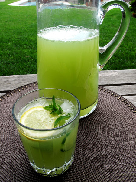 Cucumber Mint Water 5