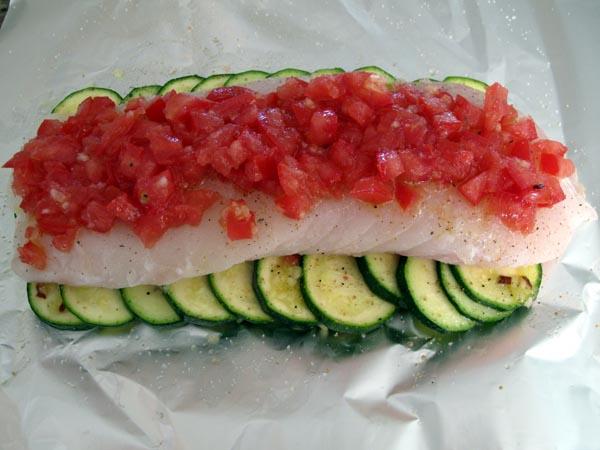 Fish in Foil prebake