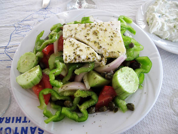 Greek Salad Santorini