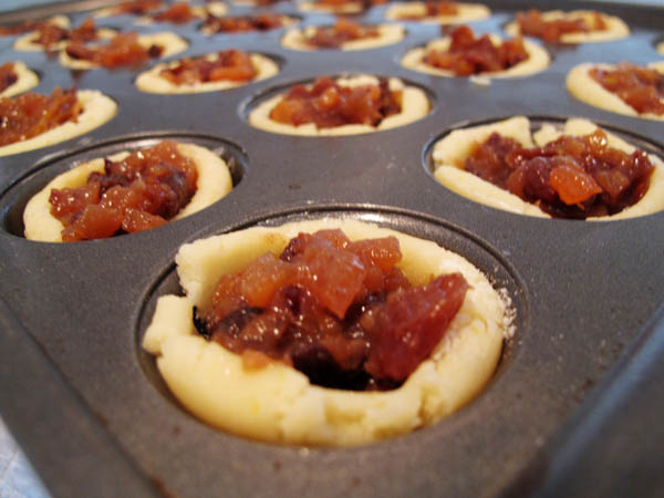 Mini Mince tarts unbaked