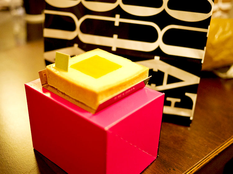 Lemon tart fauchon box