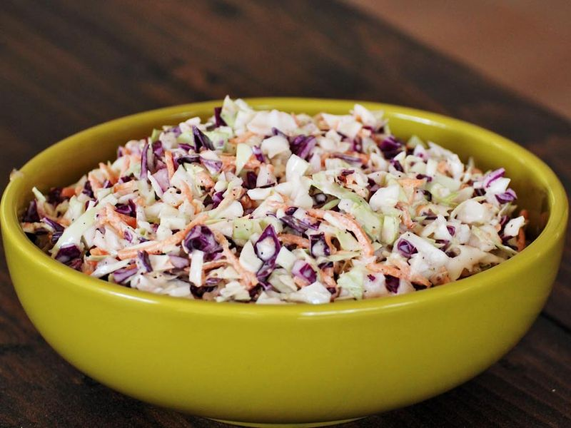 Red Green Cabbage Coleslaw1