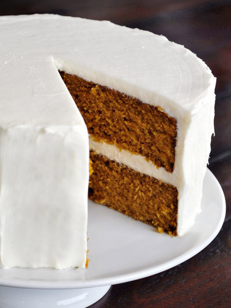 Pumpkin layer cake1