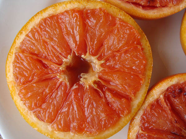 Broiled grapefruit 2a