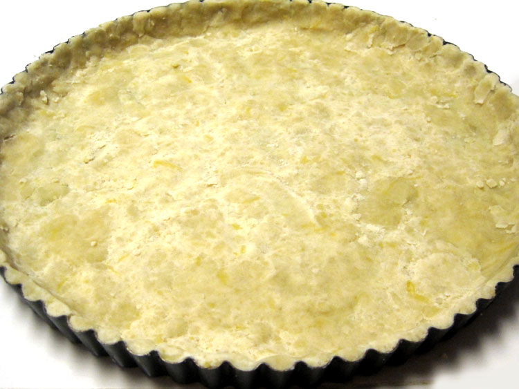 Lemon tart crust