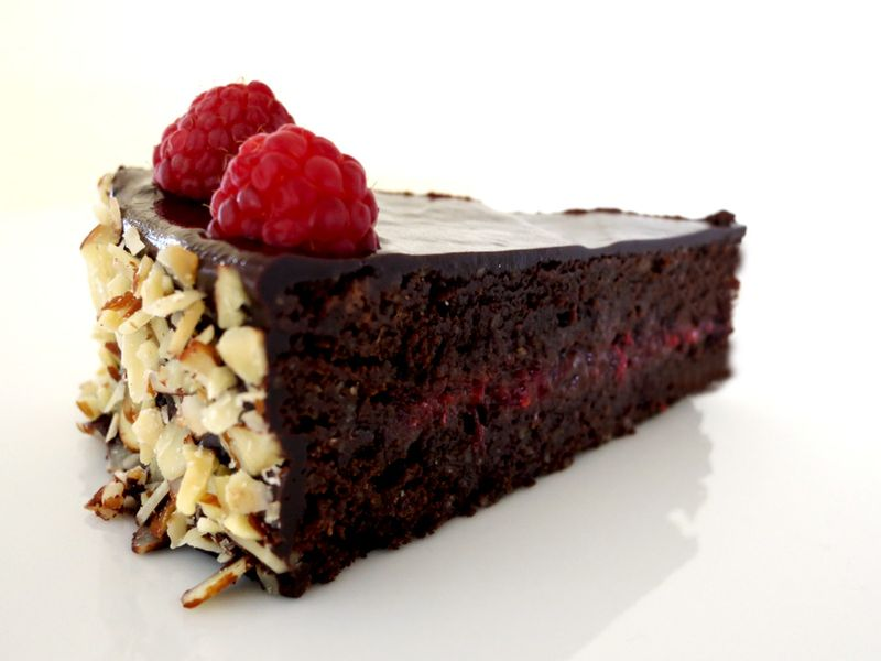 Chocolate Raspbery Sachertorte