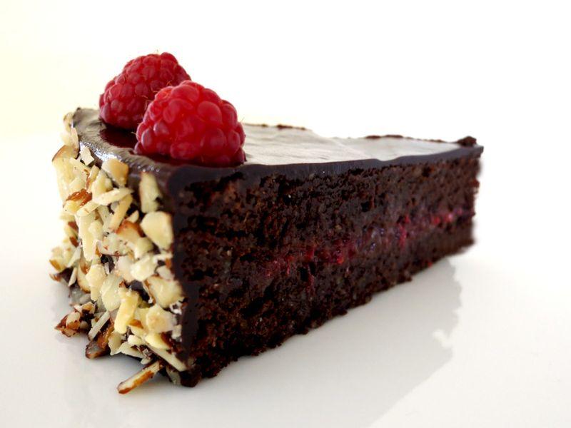 Chocolate Raspbery Sachertorte