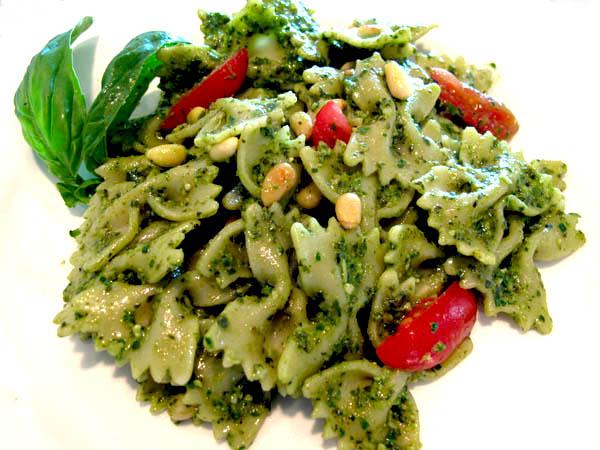 Pesto pasta 1