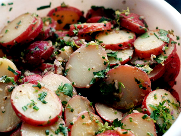 French potato salad1