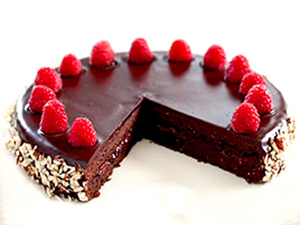 Chocolate Raspberry Torte 1a
