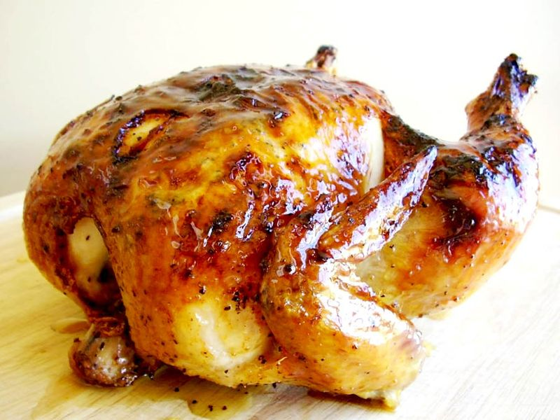 James Perfect Roast Chicken