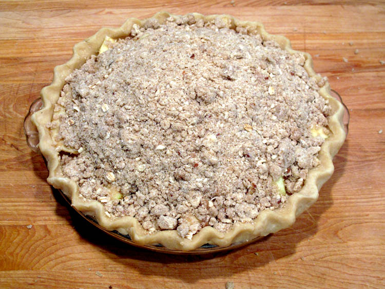 Apple Pie Streusel Topping prebake