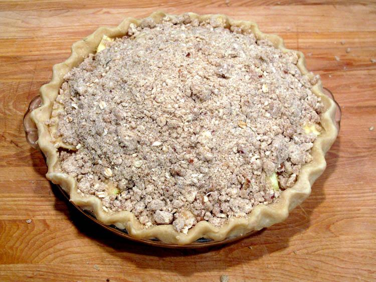 Apple Pie Streusel Topping prebake