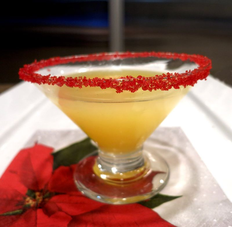 Christmas Margarita Cocktail