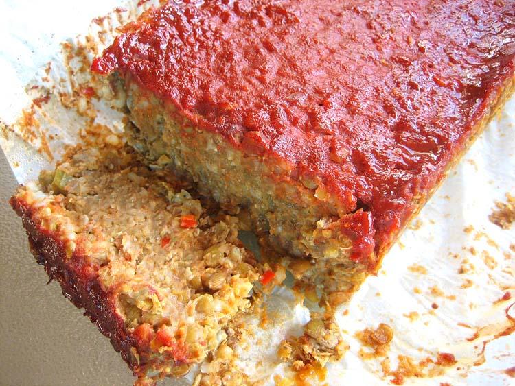 Meatless lentil loaf 2