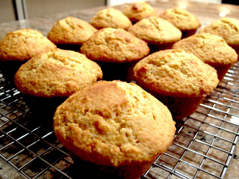 Corn muffins 3