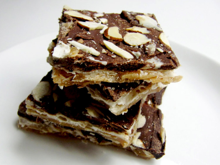 Chocolate Caramel Matzo1
