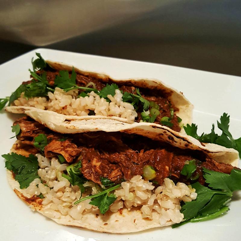 Turlkey mole tacos1