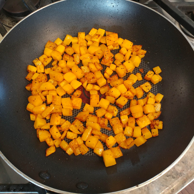 Butternut Squash Risotto cubes
