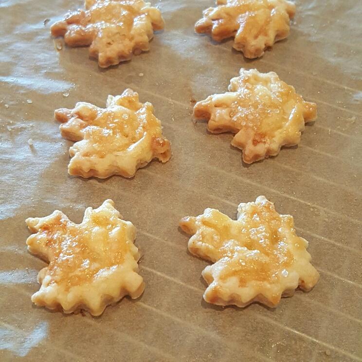 Pastry pie crust cutouts