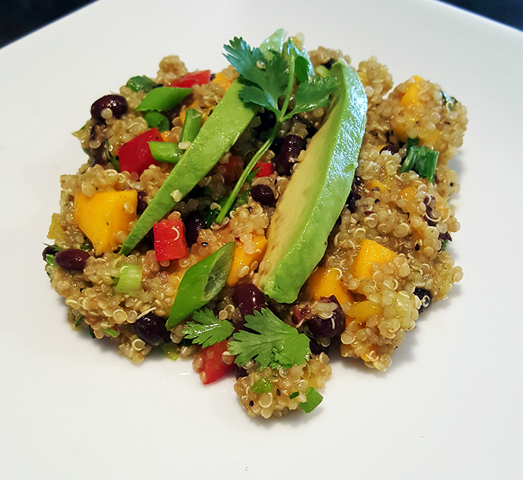 Quinoa Mango Black Bean Salad1a