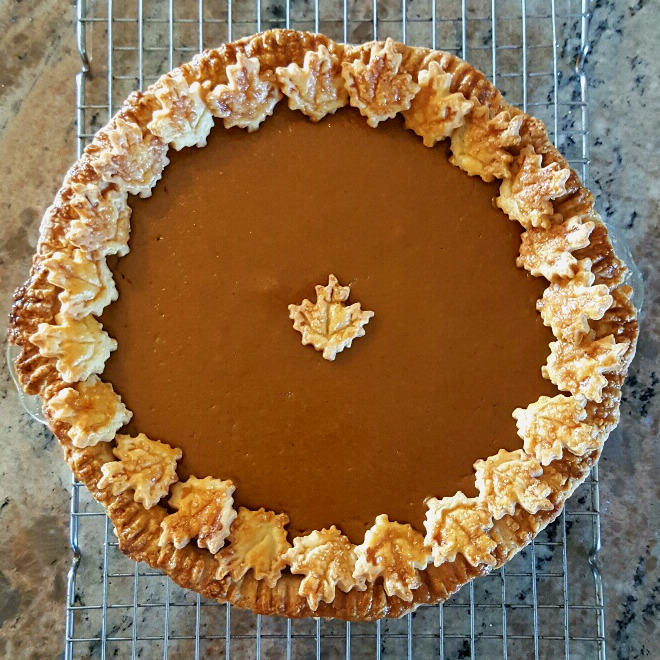 Worlds best pumpkin pie 1