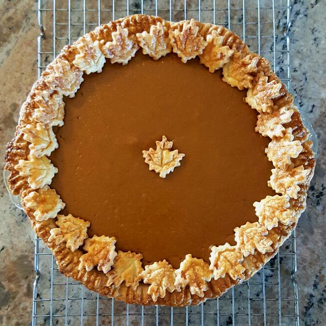 Worlds best pumpkin pie 1