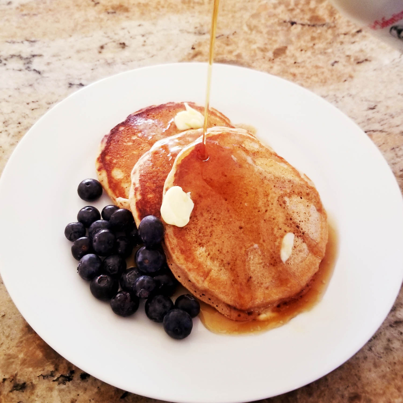 100 percent whole wheat pancakes 2018